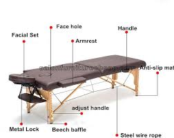 massage table with hole mobile beauty bed folding massage table massage bench