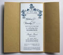 Beach Theme Wedding Invitations Tropical Pacific Island Beach Theme Wedding Invitations