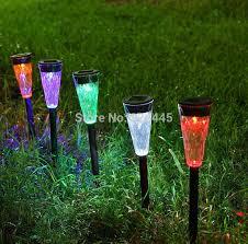 multi colored solar garden lights solar garden light multi color household super bright led outdooor