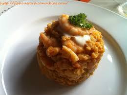 cuisiner gambas lentilles corail façon risotto et gambas fish custard