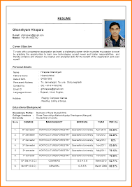 Sample Of Resume Cv by Resume Cv Format Resume Cv Cover Letter