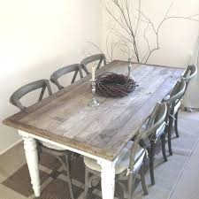 shabby chic kitchen furniture shabby chic dining table and chairs stunning decor ed farmhouse in