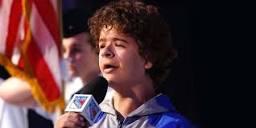 Image of Gaten Matarazzo singing