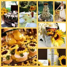 sunflower weddings premier bride magazine texas wedding theme