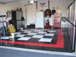 garage design ideas optimizing chessboard flooring ideas amaza