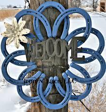 horseshoe wreath 17 best horseshoe wreath images on horseshoe wreath