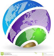 globe globe logo stock image image 19190901