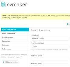 resume maker application download resume makers high resume maker high student