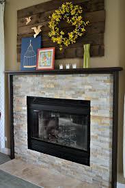 fantastic our diy fireplace mantel our diy fireplace mantel