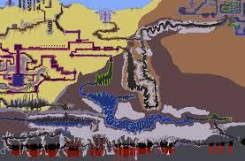 Terraria Map Viewer Dark Souls World Map Dark Souls 1 World Map Dark Souls 2 World