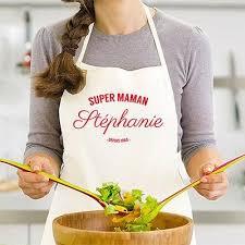 cadeau cuisine femme tablier de cuisine personnalisé homme frais tablier de cuisine