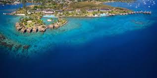 Map Of Tahiti Resort Tahiti Luxury Hotel In Faaa French Polynesia