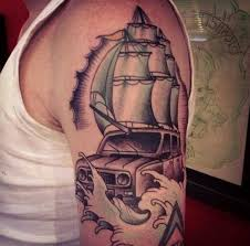 land rover sail boat tattoo cool tattoos online