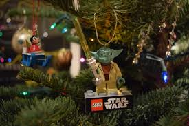 is that a star trek ship in your tree our first xmas tree