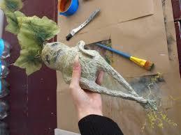 mandrake root scuplture u2013 diy halloween decoration u2013 bad kitten