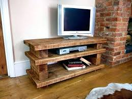 Rustic Tv Console Table Rustic Tv Stand With Barn Doors Console Metal Frame 1 L