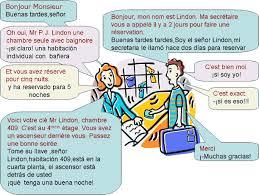 chambre traduction espagnol dialogue llegando al hotel espagnol