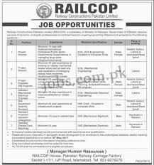 Resume Job Location by Pakistan Railways Jobs 2017 15 Positions At Railways