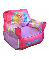 care bears rainbow beanbag chair newco
