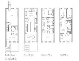 brownstone floor plans stylish inspiration ideas brownstone house plans delightful design