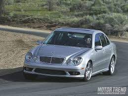 2003 mercedes e55 amg 2003 audi rs6 and mercedes e55amg comparison motor trend