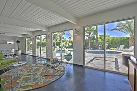 Mid Century Style Home A Rare 4 Bedroom Mid Century Modern Home In The Racquet Club