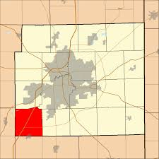 Fort Wayne Zip Code Map by Lafayette Township Allen County Indiana Wikipedia