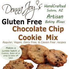 cookies cuisine az gluten free chocolate chip cookie mix donna s gluten free