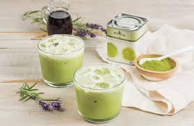 lavender tea iced lavender matcha green tea latte recipe shape magazine