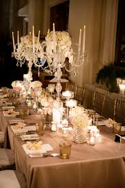 wedding table decorations candle holders andrea eppolito events las vegas wedding planner a four seasons