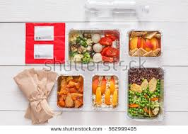 healthy food delivery take away natural stock photo 429679288