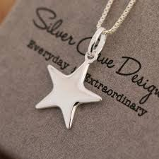 silver star necklace pendant images Sterling silver star pendant necklace silver star necklace jpg