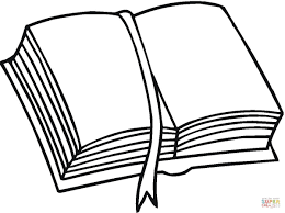 A Pile Of Books Coloring Page Book Pages Open Book Clip Art Books Coloring Page