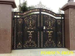 Scintillating Iron Gate Designs For Homes Gallery Ideas House