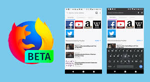 firefox for android firefox 57 beta arrives with new ui reved new tab page and