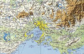 reisenett maps of australia and the pacific