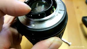 tamron 17 50mm f 2 8 repair u0026 cleaning glass youtube