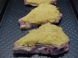 cuisiner une cote de veau côte de veau limousine façon tarte aux pommes philandcocuisine