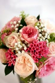 wedding flowers surrey mixed pink and green bridal bouquet surrey wedding flowers by