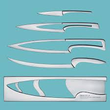 deglon meeting nested knife set the green head