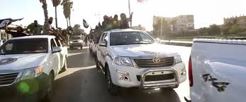 toyota trucks usa u s officials ask toyota how isis got so many of their new trucks