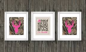 Camo Bedroom Decorations Nursery Decor Pink Camo Nursery Decor Personalized