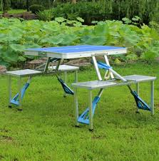 portable folding picnic table custom suitcase lightweight portable folding picnic table 4 seat