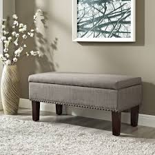 Ottomans by Better Homes And Gardens Grayson Ottoman Storage Bench Walmart Com