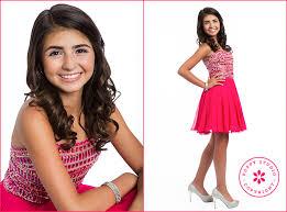 dresses to wear to a bar mitzvah bat mitzvah studio portraits bat mitzvah girl in pink dress and
