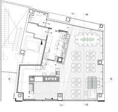 Floor Plan Of A Church by Tokyo Cafe Interior By Cut Architectures Is Modelled On A Laboratory