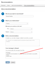 how to write a linkedin recommendation to get yourself recommended