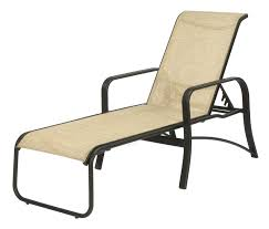 Sorrento Patio Furniture by 16 In Seat Montego Bay Aluminum Sling Patio Chaise Lounge Chair