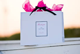 wedding gift bags welcome bags treat your wedding guests white prague wedding