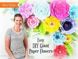 wedding backdrop tutorial paper flower tutorial large paper flowers wedding